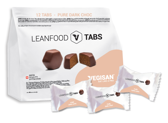 12 TABS PURE DARK CHOC Tagesration