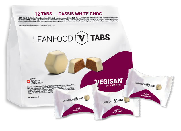 12 TABS CASSIS WHITE CHOC Tagesration