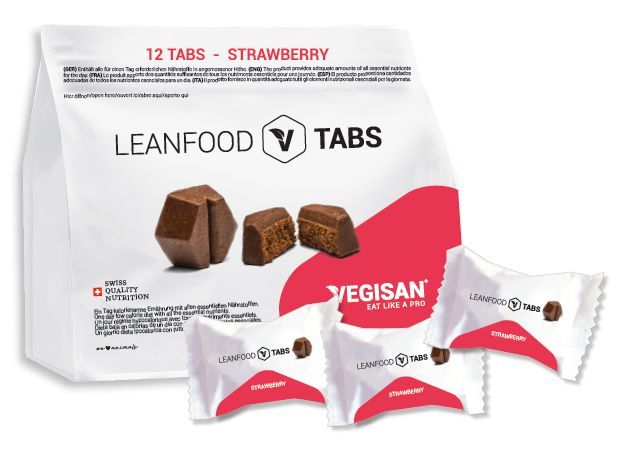 12 TABS STRAWBERRY Tagesration