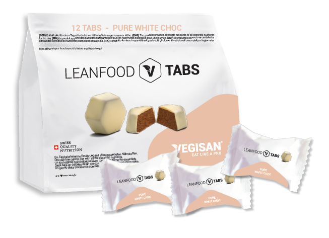 12 TABS PURE WHITE CHOC Tagesration